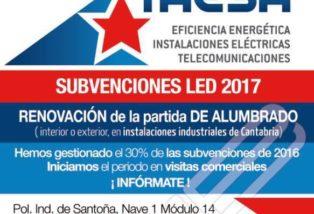 Gestión de Subvenciones LED 2017